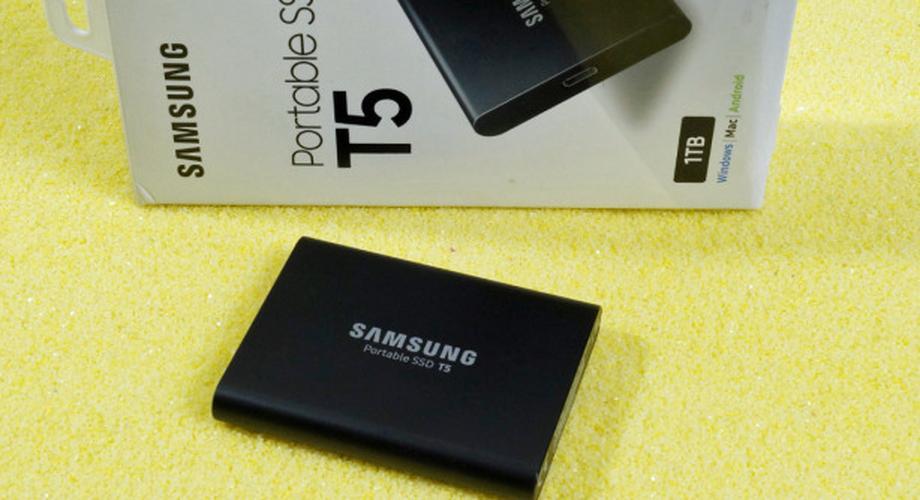 Test Samsung Portable SSD T5: Groß, schnell, günstig