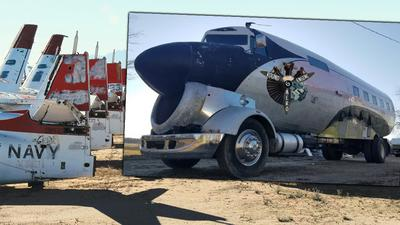 Samolot z II WŚ przerobiony... na kampera. Prace zajęły rok