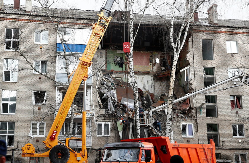 Wybuch gazu w bloku w Rosji