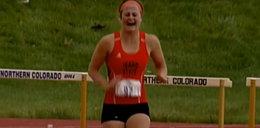 Heroiczna postawa biegaczki. Dobiegła ze łzami w oczach