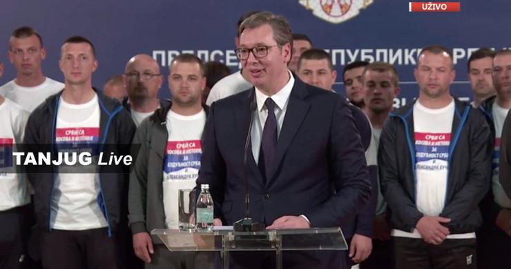 Aleksandar Vučić, Srbi sa KiM, Predsedništvo