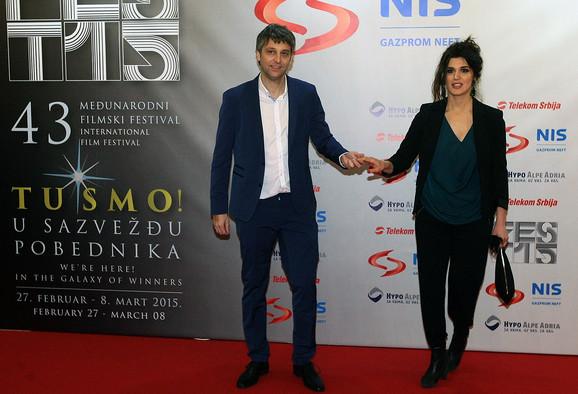 Ana Tomović sa suprugom Vukom Ršumovićem
