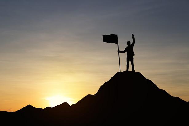 sukces praca biznes góra zwycięstwo
