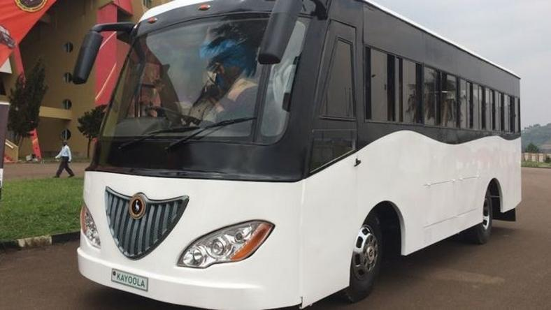Uganda's Kiira Motors' Kayoola solar-powered bus