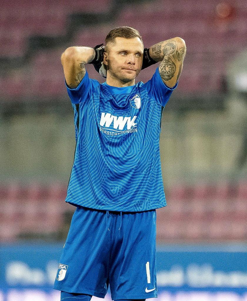 Rafał Gikiewicz (34 l.) jest mocno poruszony tym, co spotkało Eriksena.