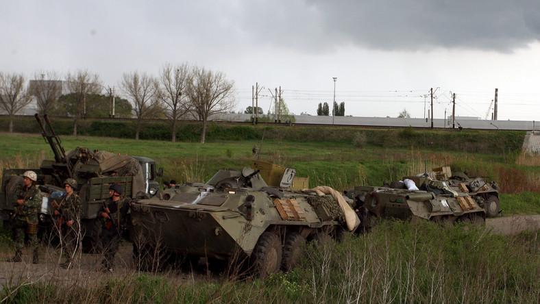 Wojsko pod Kramatorskiem