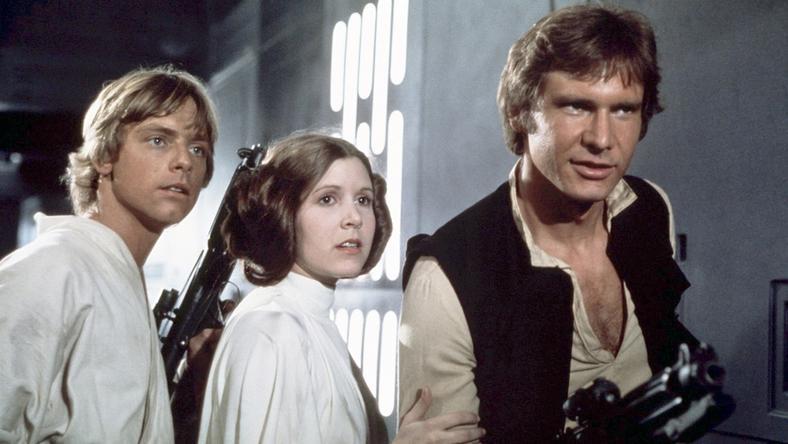 """""""Gwiezdne wojny: część IV - Nowa nadzieja"""" - kadr z filmu"""