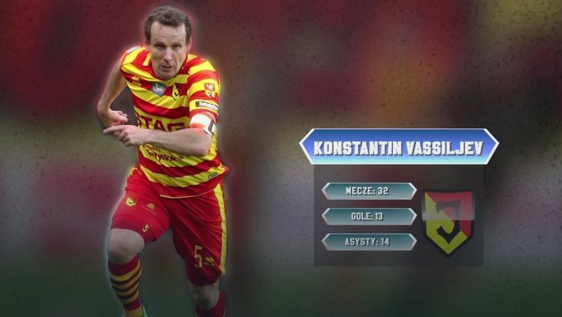 Konstantin Vassiljev ofensywnym pomocnikiem jedenastki sezonu