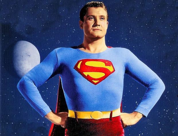 Džordž Rivs kao Supermen
