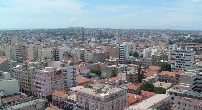 Dakar Panorama urbain