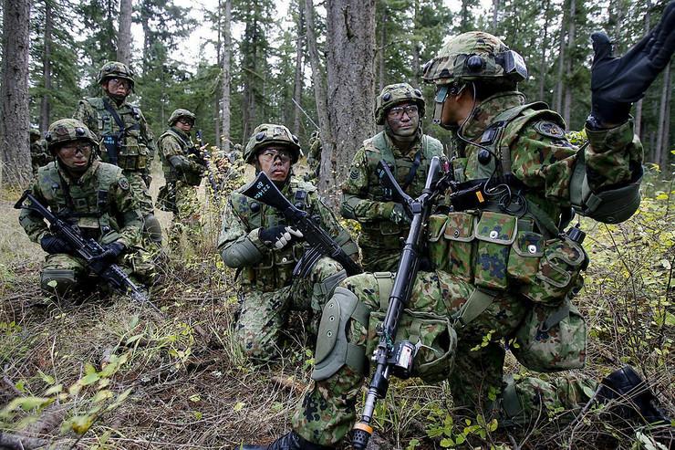 Japan, vojska