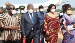 President of Angola visit Ghana