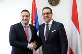 Branko Ružić i Hajnc Kristijan Štrahe