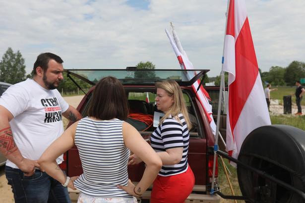 """Akcja """"Wiec dla wolnej Białorusi! Europo czas działać"""""""