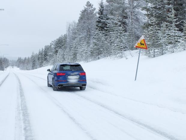 Audi SQ7 Nordkap Tour