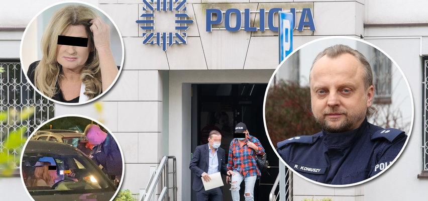 Pijana piosenkarka nie trafiła na izbę wytrzeźwień. Rzecznik policji wyjaśnia, że nie traktują jej ulgowo: Beata K. pierwszą karę już poniosła