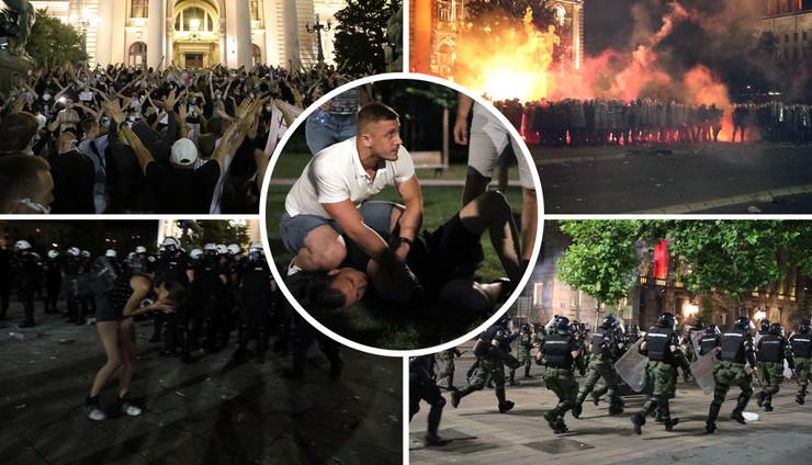 protest juris kombo RAS MItar Mitrovic