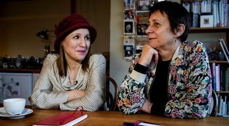Mothers of jihadist, Belgium attack victim write book together
