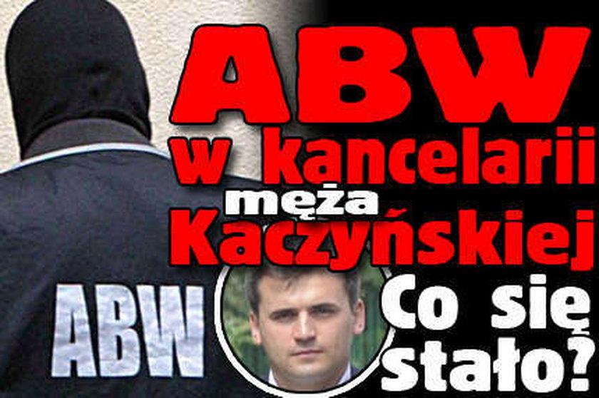 ABW w kancelarii Dubienieckich!