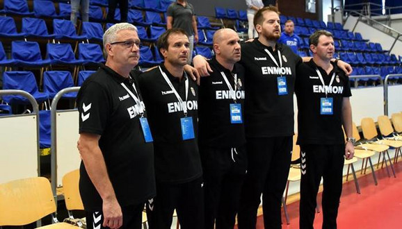 Stručni štab mlade rukometne reprezentacije Srbije