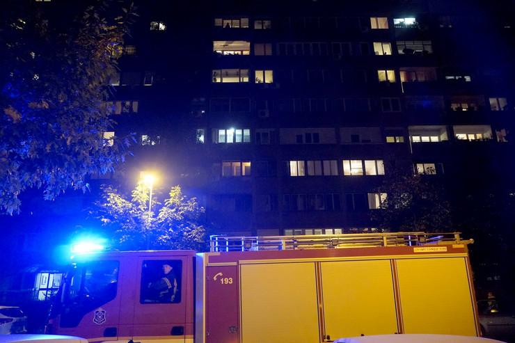 Stan Novi Beograd požar