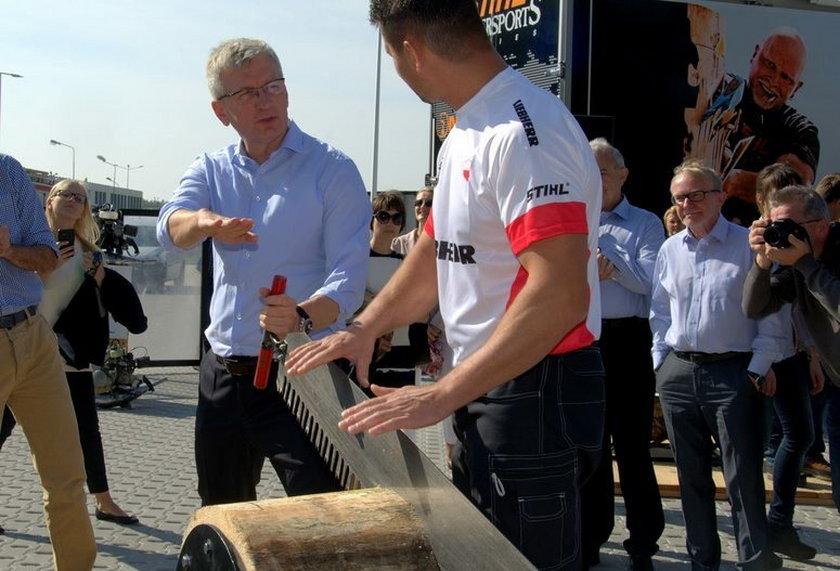 Międzynarodowe zawody w rąbaniu i cięciu drewna odbędą się w Poznaniu