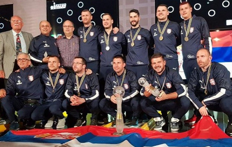 Kuglanje, Reprezentacija Srbije, šampioni sveta