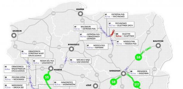 35 mld zł na ekspresówki do końca 2013 r.