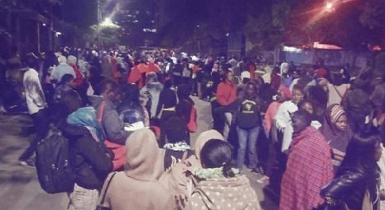 Long queues at Nyayo House as Kenyans rush to get the new e-passport