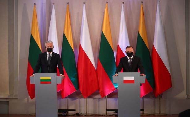 Gitanas Nauseda i Andrzej Duda