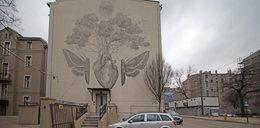 Wytatuował sobie mural