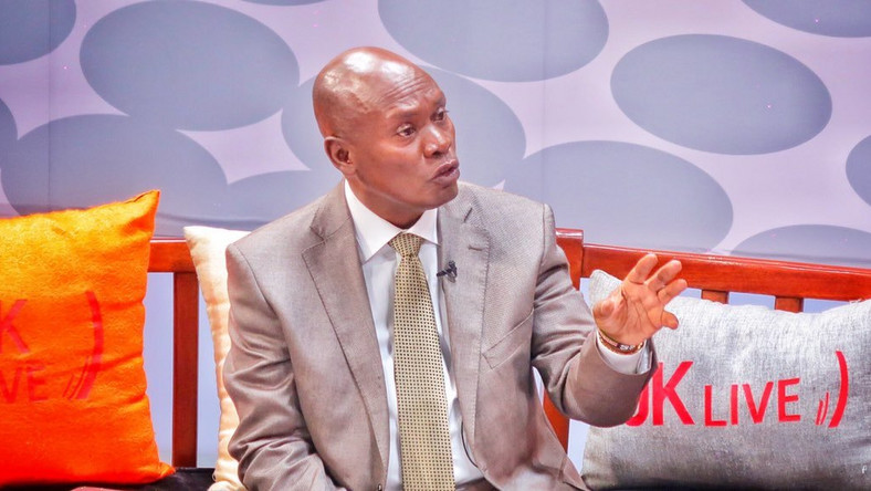 William Kabogo while on the JKL show on Wednesday (Twitter)