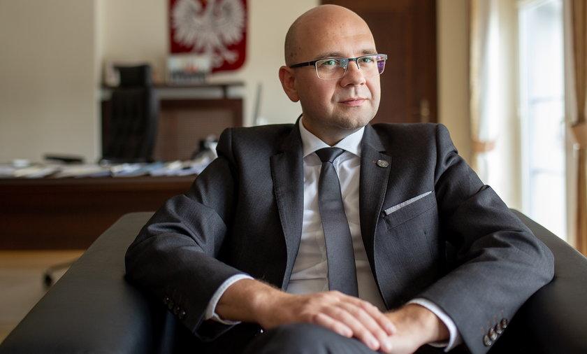 Bartłomiej Chmielowiec, Rzecznik Praw Pacjenta.