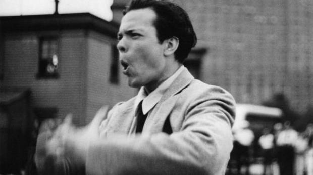 """Too Much Johnson"" (reż. Orson Welles) - kadr z filmu"