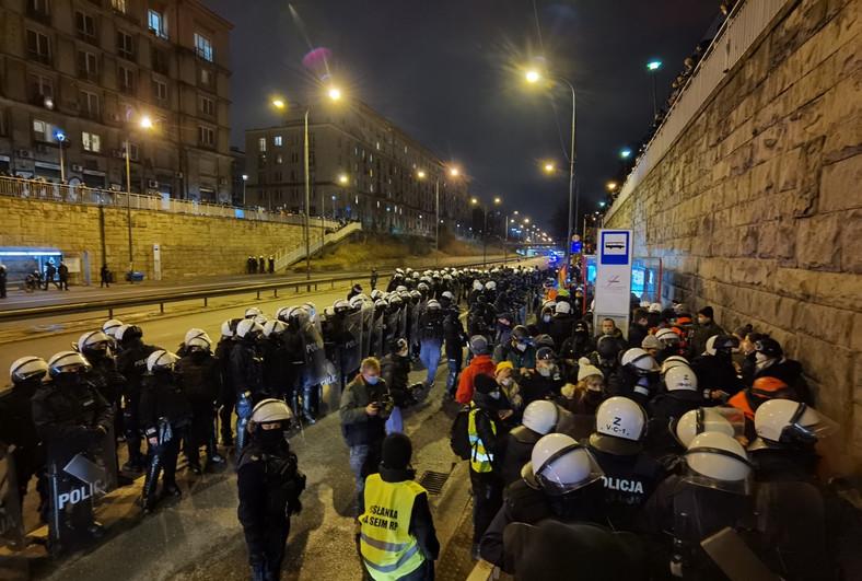 Manifestacja 28 listopada Fot. Maciej Suchorabski