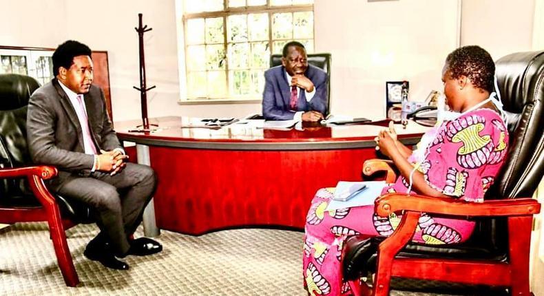 Tanga Tanga defections as Laikipia North MP Sarah Korere pays allegiance to Uhuru-Raila unity campaign