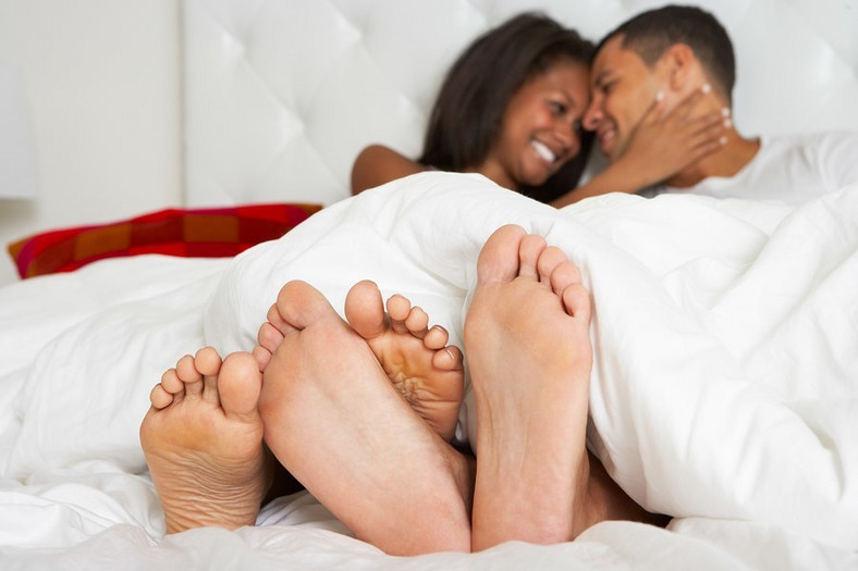 She's not going to fake an orgasm just to make things end. [Credit: iStock]