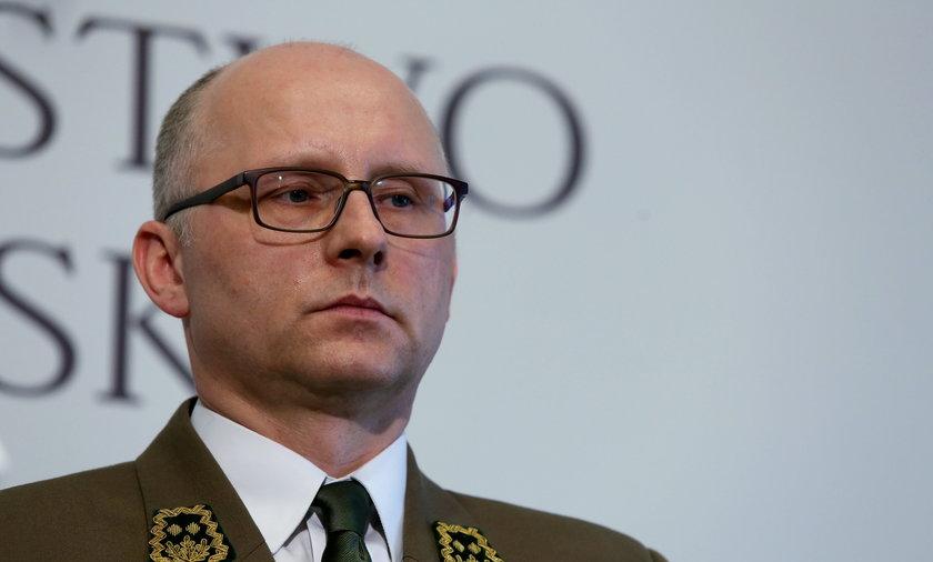 Dyrektor Lasów Państwowych Andrzej Konieczny