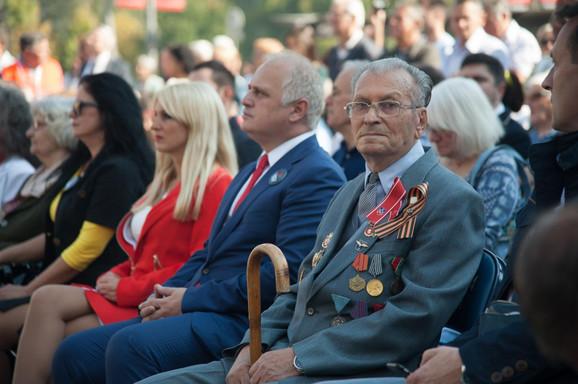Borisav Filipović, veteran na obeležavanju godišnjice oslobođenja Beograda