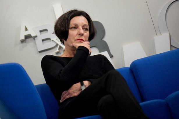 Herta Müller na targach książki we Frankfurcie nad Menem (2014)