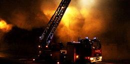 Pożar na Brochowie. Jedna osoba nie żyje