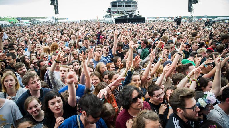 Open'er Festival 2017: zdjęcia publiczności
