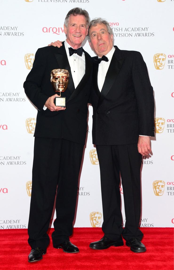 majkl pejlin teri dzouns BAFTA London Maj 12 2013 foto