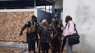 Volta secessionist leader arrested; granted bail on health grounds