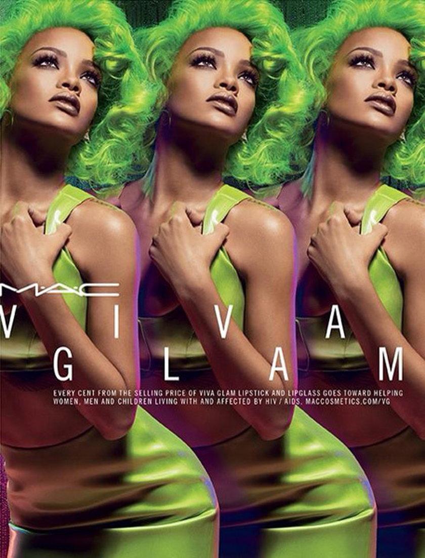 Rihanna w kampanii MAC