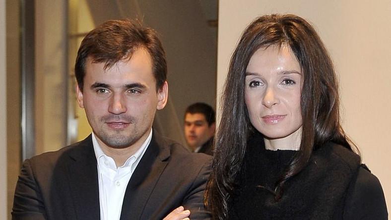 Marcin Dubieniecki i Marta Kaczyńska
