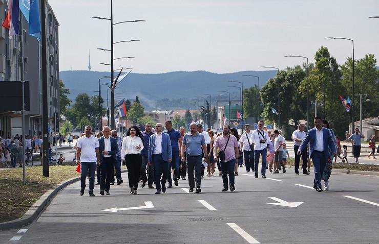 Novi Sad, Bulevar, Miloš Vučević, Otvaranje