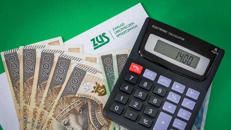 składki zus 2021 mały zus plus emerytura renta świadczenie ubezpieczenie społeczne pieniądze kalkulator