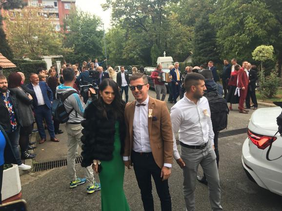 Milan Dinčić Dinča i njegova supruga Jelena
