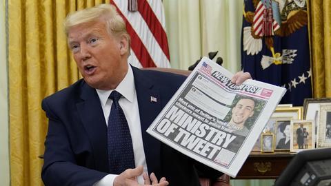 Komentatorzy od lat apelowali do Twittera, by ten nie pozwalał Donaldowi Trumpowi rozpowszechniać fałszywych informacji, z czego amerykański prezydent słynie. W końcu Twitter zareagował, a Trump zapowiedział odwet.